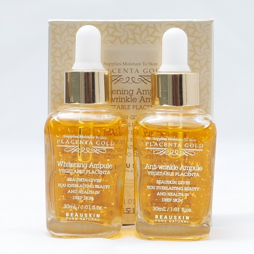Ampoule Set 2 Placenta Gold