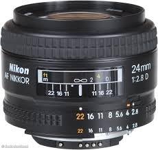 Lens AF 24mm f2.8D