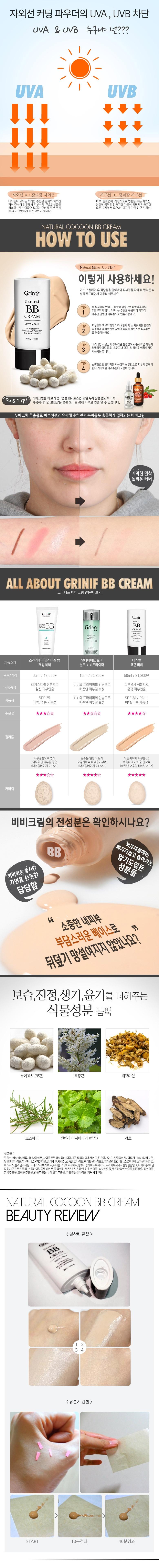 Nature BB Cream SPF36++ 50ml