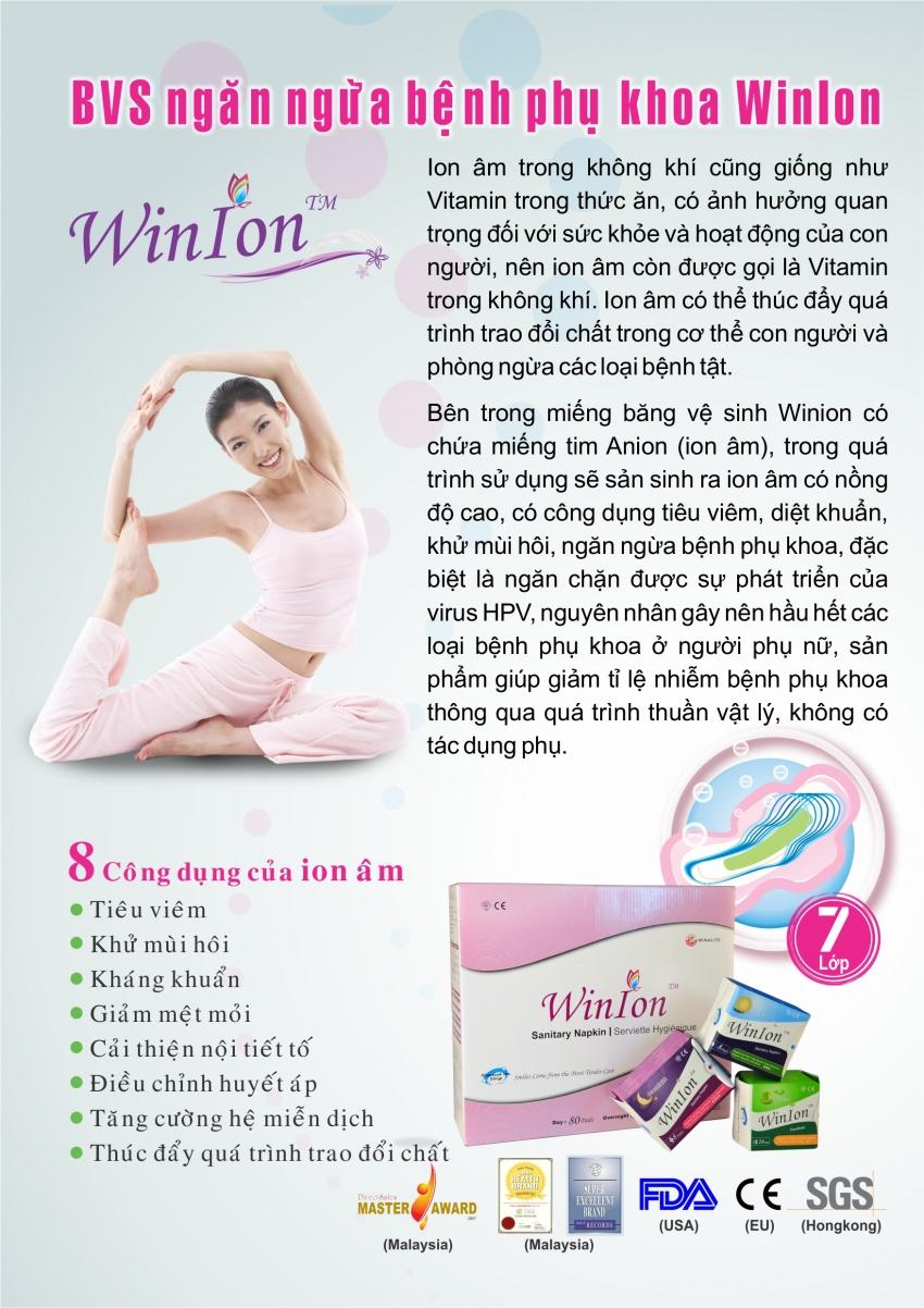 Băng vệ sinh Winion