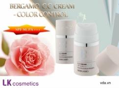 Kem Chống Nắng Trắng Da ,che Khuyết Điểm. ( Bergamo Cc Cream ) - Spf 50, Pa+++