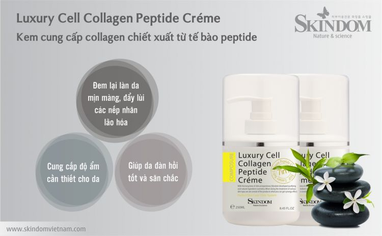 Luxury Cell Collagen Peptide Cream