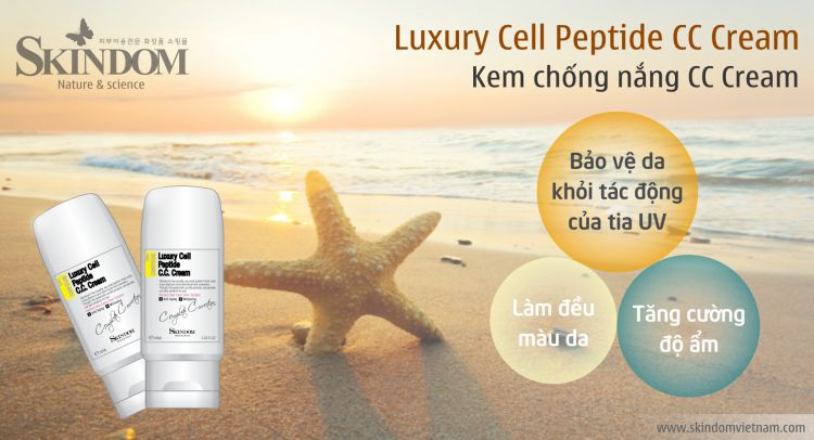 Luxury Cell Peptide C.C. Cream