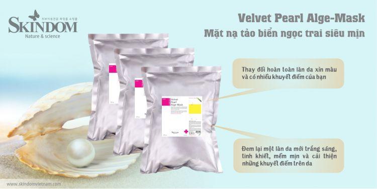 Velvet Pearl Alge-Mask