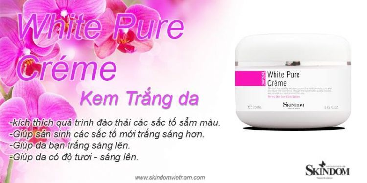 White Pure Cream