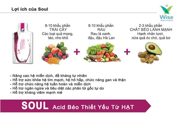 Rain Soul nguồn dinh dưỡng dồi dào từ hạt