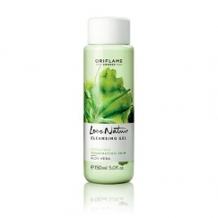 Love Nature Cleansing Gel Aloe Vera